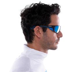 Skibrillen volwassenen Skiing 700 zwart & blauw categorie 4 - 1116905