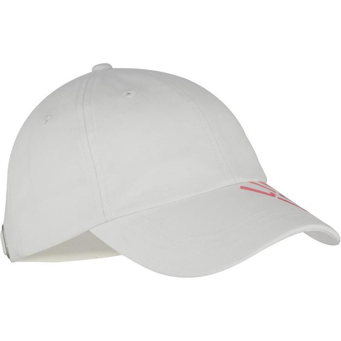 Gorra estampada de gimnasia niña blanco