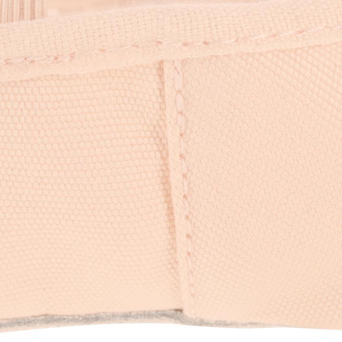 Demi-pointes toile saumon - 1117173