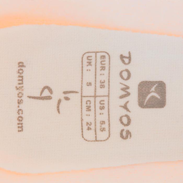 Demi-pointes toile saumon - 1117178