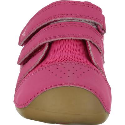 500 I Learn Gym Shoes - Fuchsia/Brown