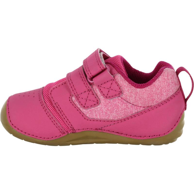 Chaussures 500 I LEARN GYM rose fuschia/marron