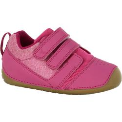Zapatillas 500 I LEARN GIMNASIA rosa fucsia/marrón