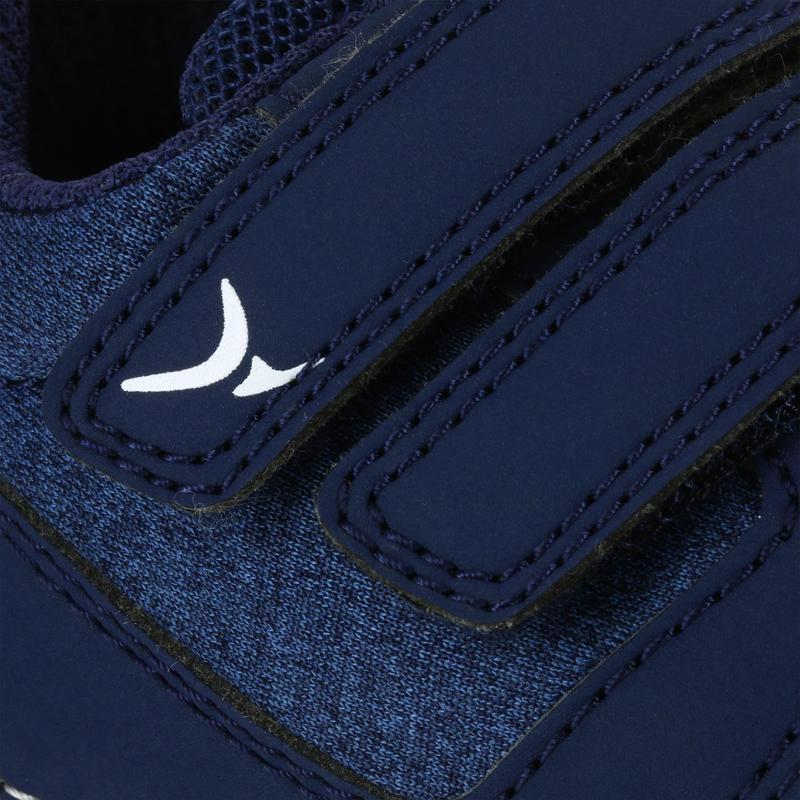 Chaussures 500 I LEARN GYM marine/marron