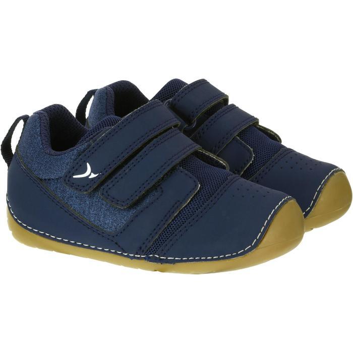 Zapatillas 500 I LEARN GIMNASIA azul marino/marrón