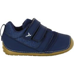 Zapatillas 500 I LEARN GYM azul marino/marrón