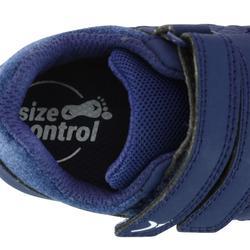 Gymschoentjes 500 I Learn marineblauw/bruin