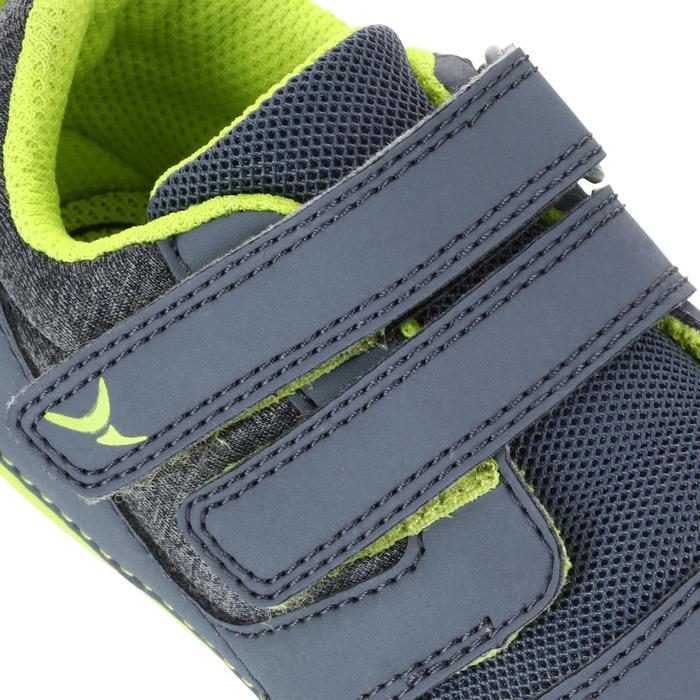 Gymschoentjes I Learn grijs/anijsgroen
