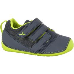 I Learn Gym Shoes - Grey/Lime Green