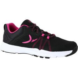 Fitnessschoenen Energy 100 voor dames zwart/roze