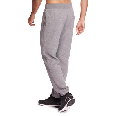 520 Regular-Fit Gym Stretching Bottoms - Grey