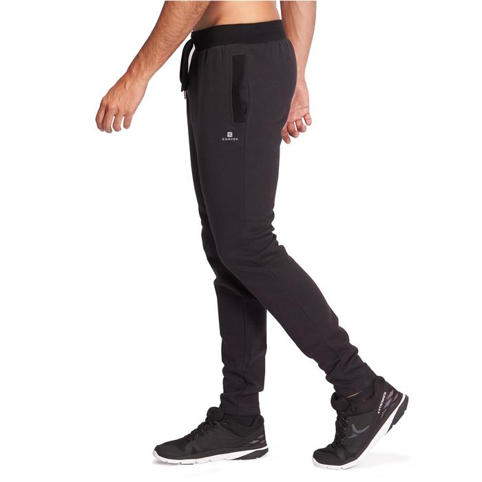 Jogginghose Gym 920 Slim Fitness Herren schwarz