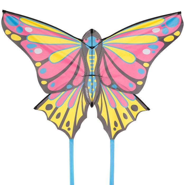 Flugdrachen statisch MFK 160 rosa/gelb