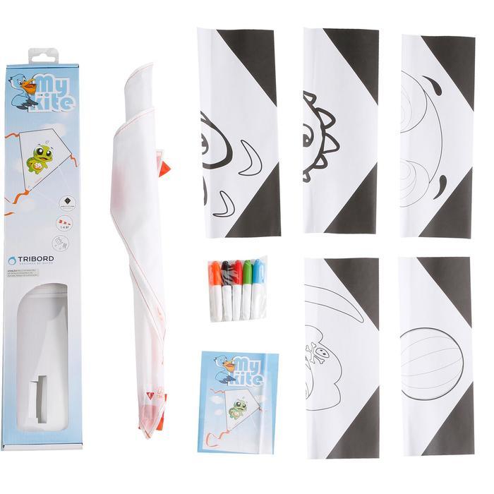 Cerf volant Monofil My Kite à décorer soi meme - 1117817