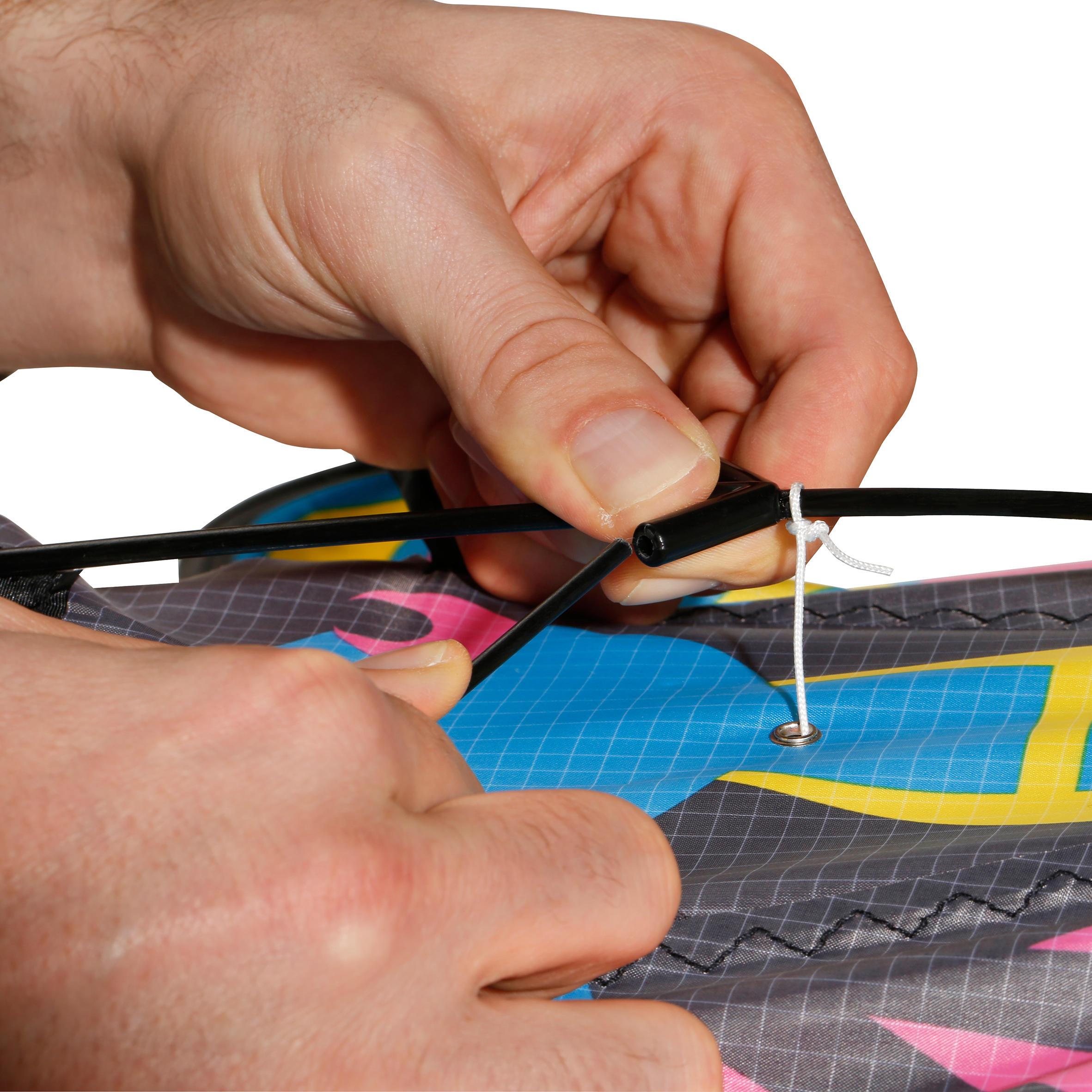 MFK 160 Static Kite - Pink/Yellow