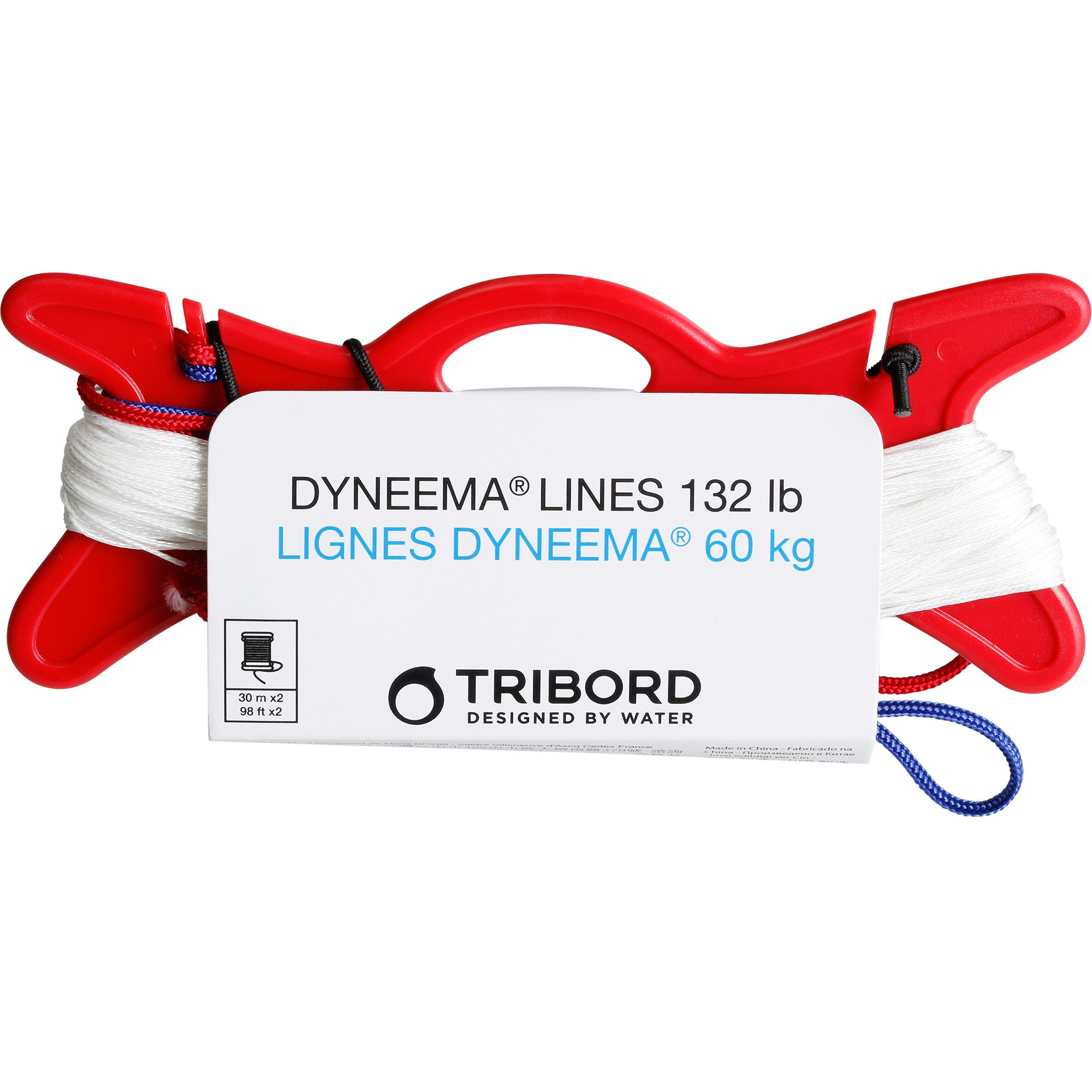 Tribord Ommantelde Dyneema lijn 60 kg