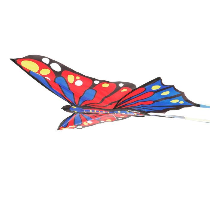 Niet bestuurbare vlieger MFK 160 rood/blauw