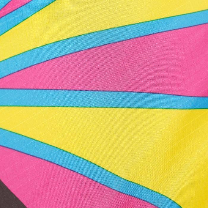 Niet bestuurbare vlieger MFK 160 roze/geel