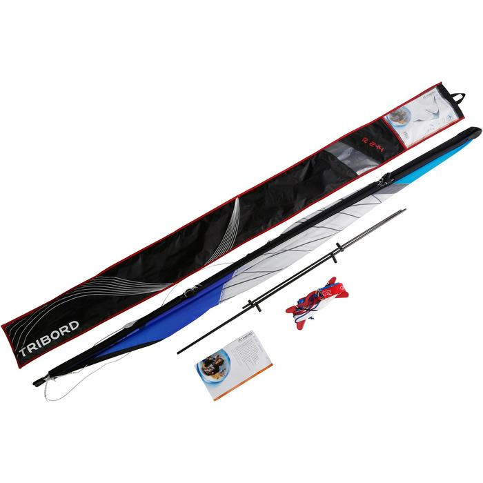 Cerf volant PILOTABLE R244 tubes carbone. - 1117937