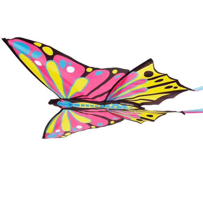 靜態風箏MFK160-粉紅色/黃色