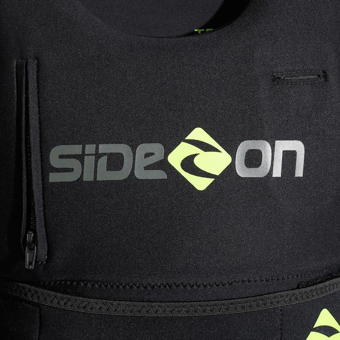 Vest voor kitesurfen zwart/groen