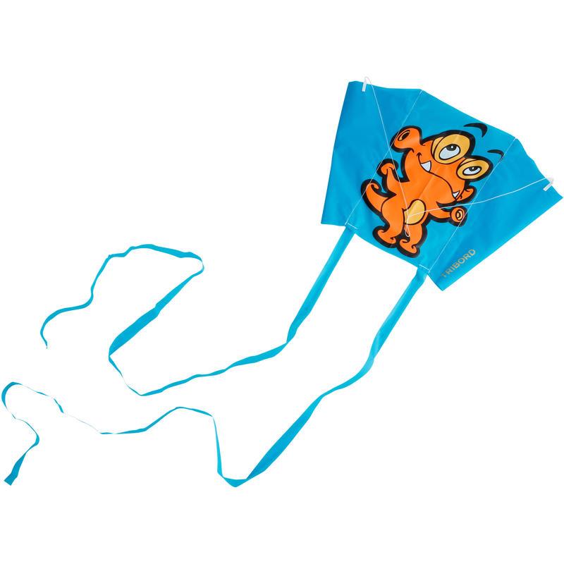 Cometa Monohilo Mini Wing Monster azul