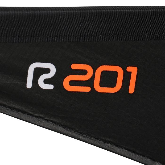 Bestuurbare vlieger R201 met carbon stokken