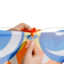 Eenlijnsvlieger IZY ruitvorm met print van een masker - 1118064