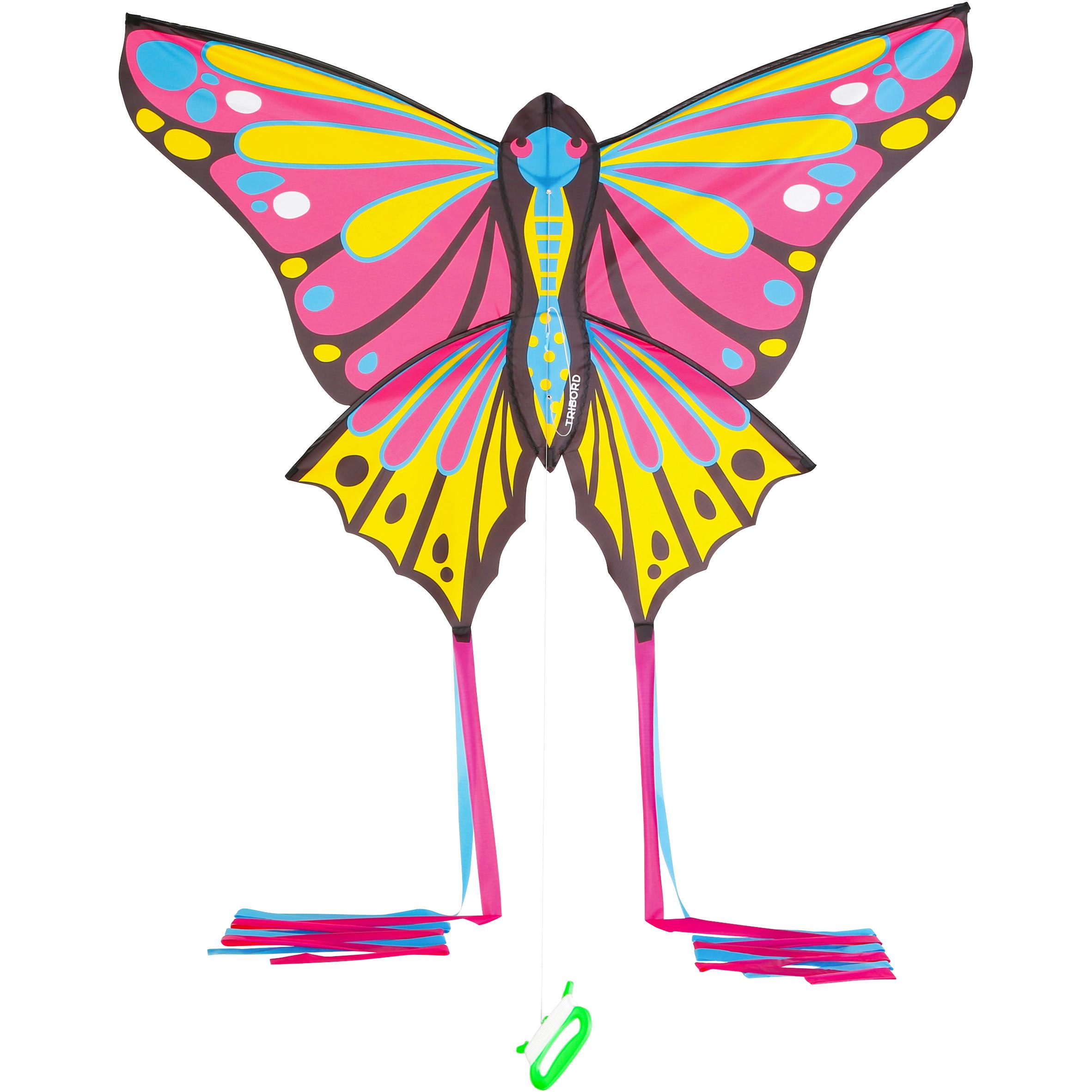 Papalote estático MFK 160 rosa/amarillo