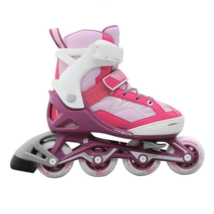 Fit 3 Kids' Inline Skates - Pink/White