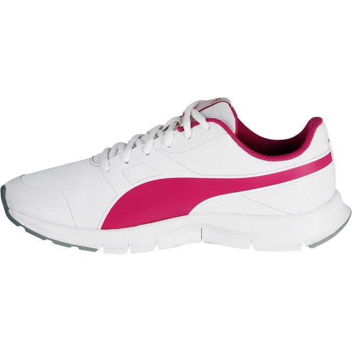 Chaussures marche sportive enfant Flex Racer blanc /  rose - 1118299