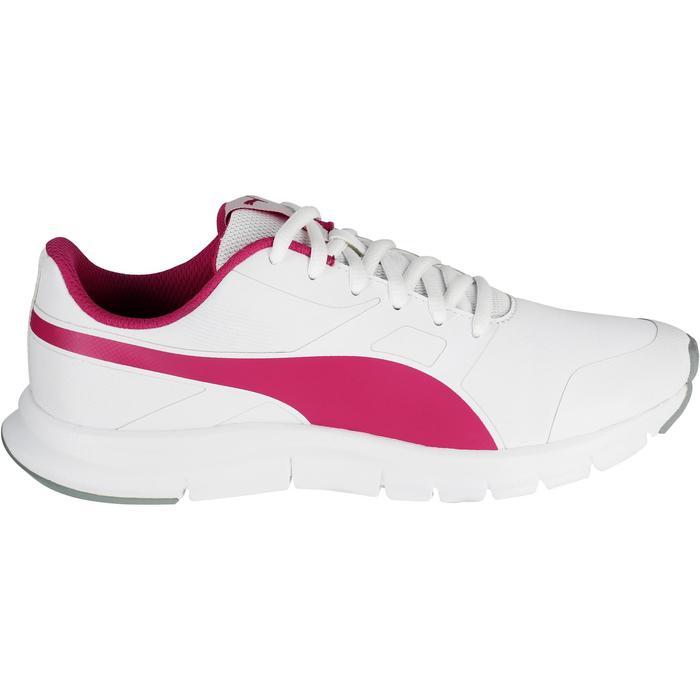 Chaussures marche sportive enfant Flex Racer blanc /  rose - 1118302