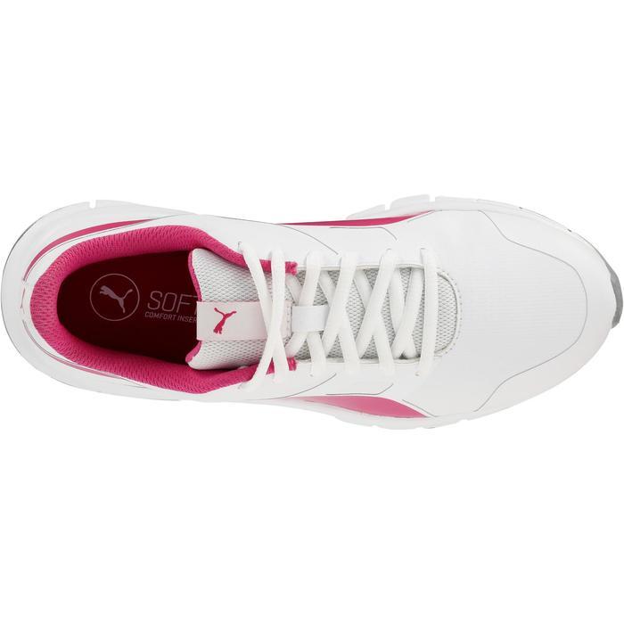 Chaussures marche sportive enfant Flex Racer blanc /  rose - 1118305