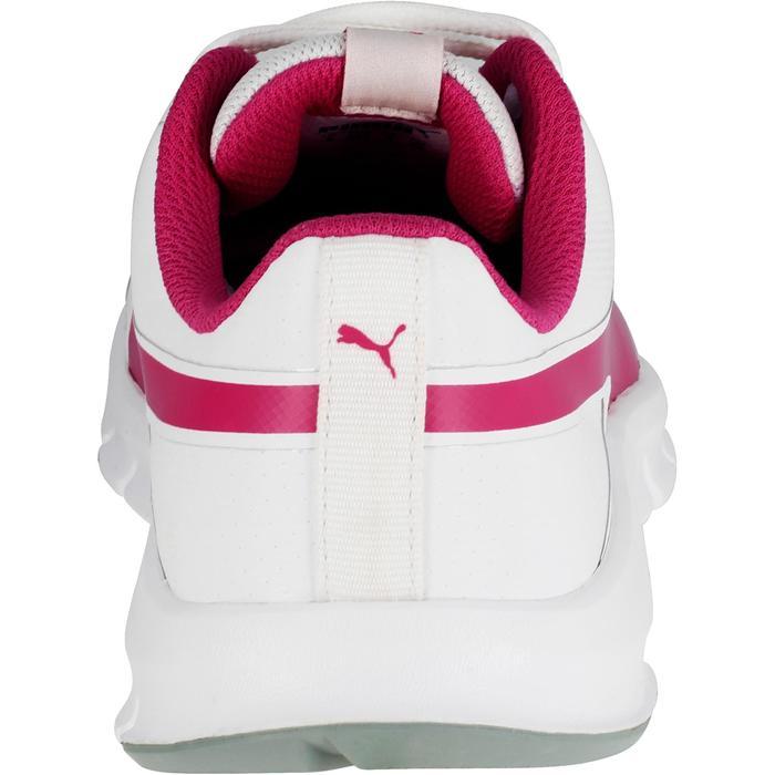 Chaussures marche sportive enfant Flex Racer blanc /  rose - 1118306