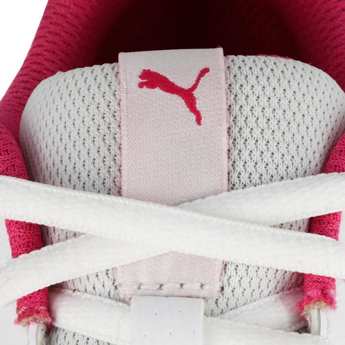 Chaussures marche sportive enfant Flex Racer blanc /  rose - 1118312