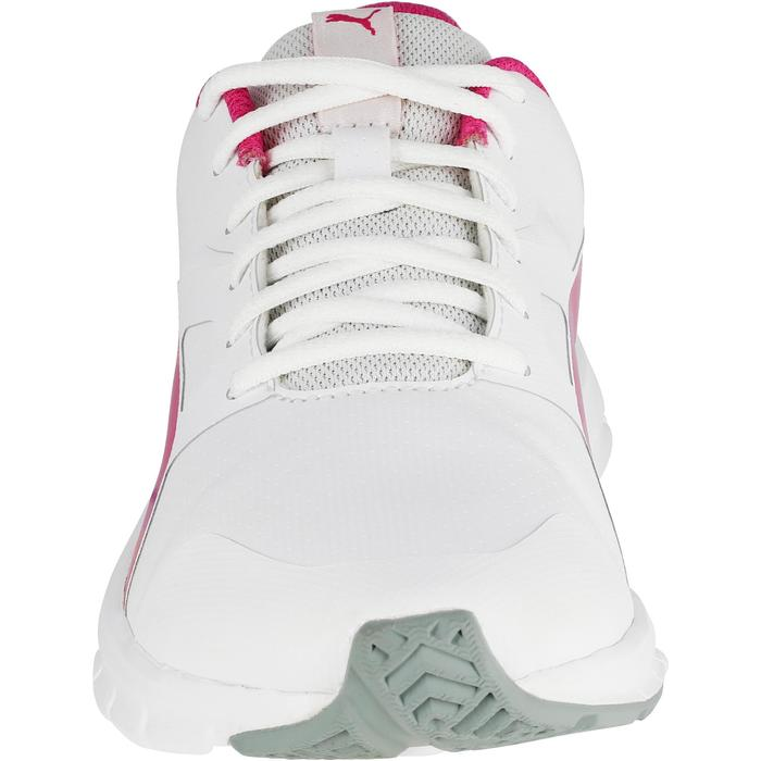 Chaussures marche sportive enfant Flex Racer blanc /  rose - 1118316