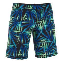 男款游泳短版平口式泳褲 190 LONG ALOPIL 綠色