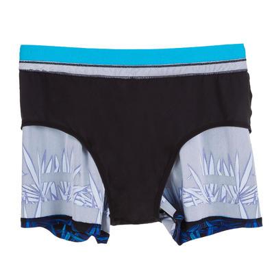 Чоловічі плавки-шорти для 150, короткі - Чорний/Синій
