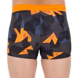 男款四角泳褲100 PEP - ALBLOK橘色