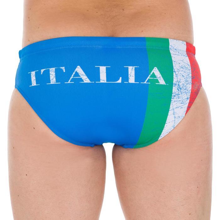 Bañador Natación Slip 100 Nabaiji Hombr Estampado Italia