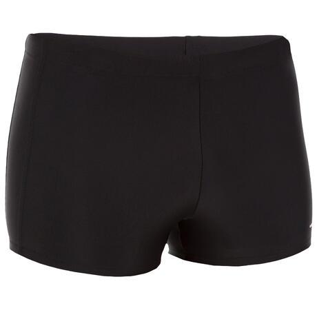 maillot de bain homme boxer 100 plus pip noir nabaiji. Black Bedroom Furniture Sets. Home Design Ideas
