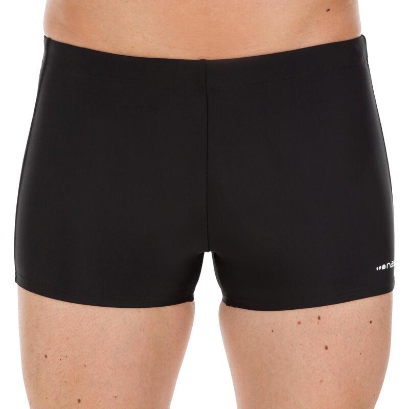 Men's Swim Boxers 100 PLUS - Black