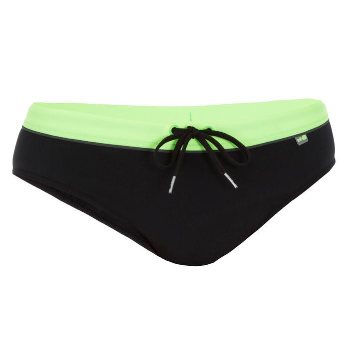 Zwemslip heren 900 Pep zwart groen