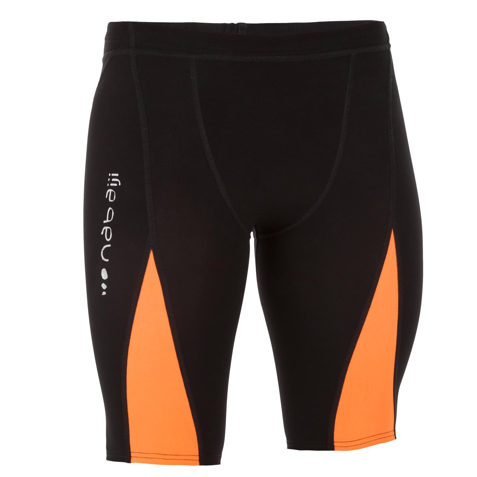 Maillot de bain de competition homme jammer fina 990 fast orange nabaiji - Decathlon costumi piscina ...