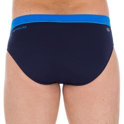 Zwemslip voor heren 100 Pep blauw/marineblauw