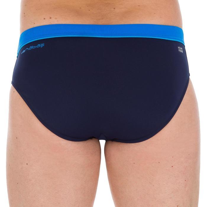 Zwemslip voor heren 900 Pep donkerblauw/lichtblauw