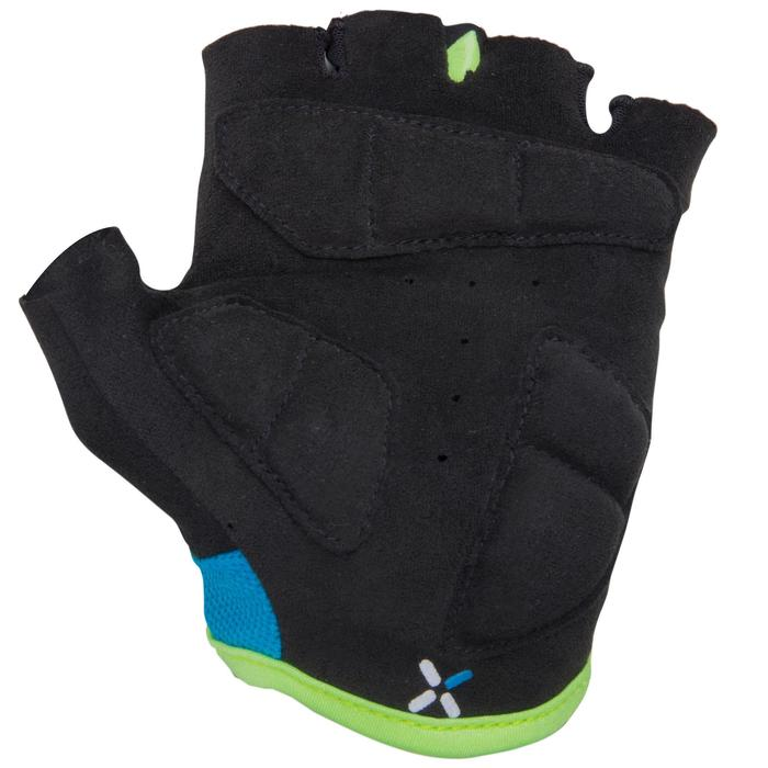 500 Junior Cycling Gloves - Blue - 1118734