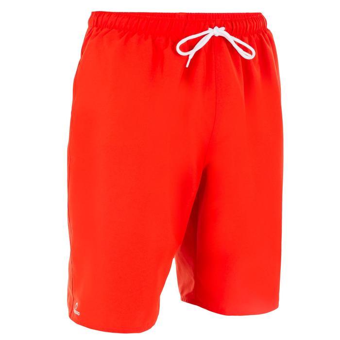 Boardshort largo Hendaia Rojo