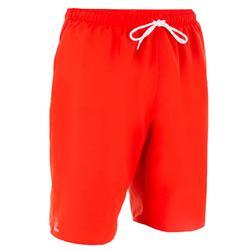 長版衝浪褲Hendaia-紅色