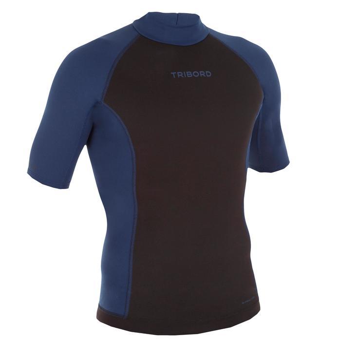 tee shirt anti UV surf top néoprène polaire thermique manches courtes homme - 1118902